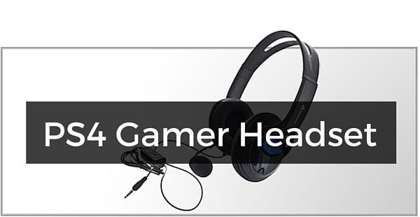 Gamer headset til PS4