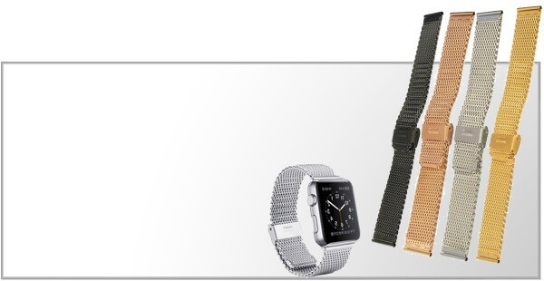 Stål remme til Apple Watch