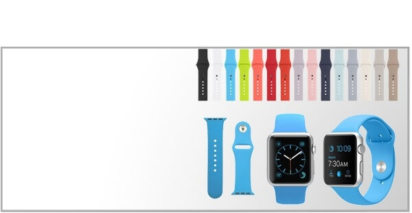 Sportsremme til Apple Watch 3