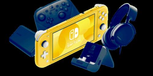 Tilbehør til Nintendo Switch Lite