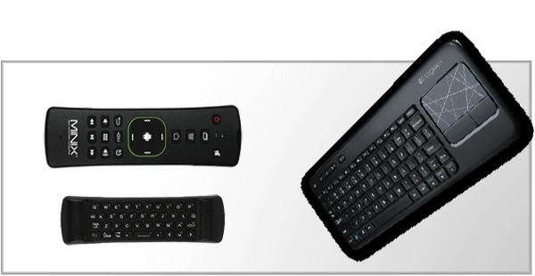 Trådløse tastature og mus
