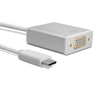 Billede af USB-C til VGA adapter i aluminium - USB 3.1