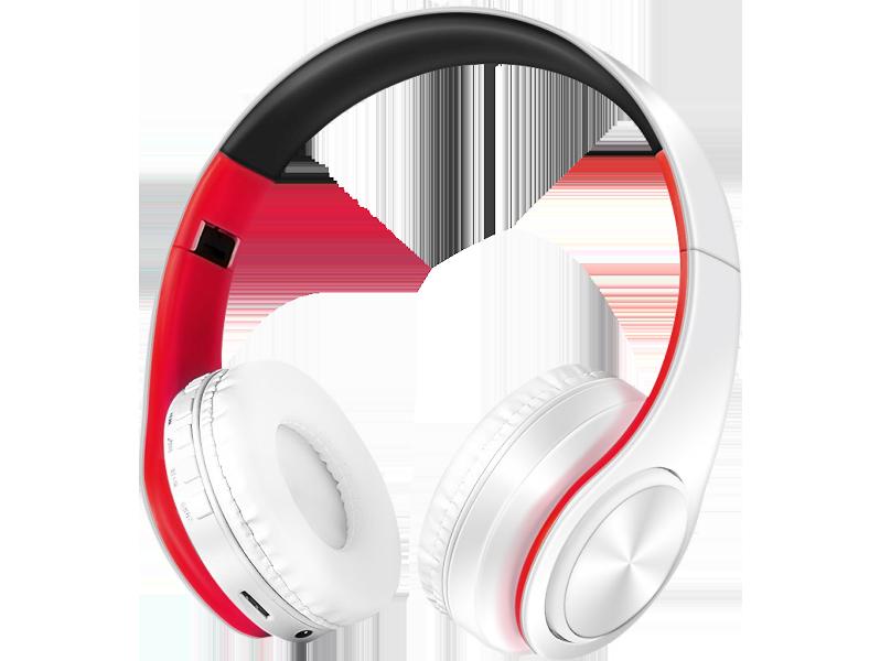 Image of   Sadao S710 Trådløst Headset-Hvid