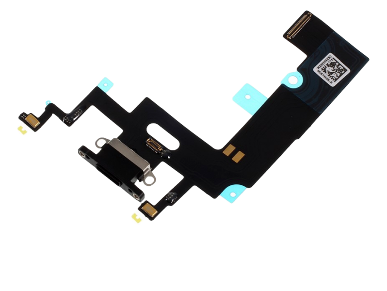 Image of   Opladerindgang / dock connector til iPhone XR-Sort