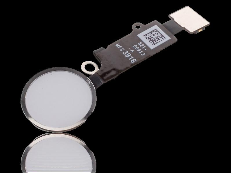 Image of   Hjemknap med kabel til iPhone 8 / 8 Plus-Hvid