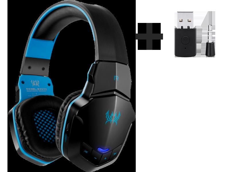 Billede af Blåt Hydra G50 PS5 Bluetooth Headset
