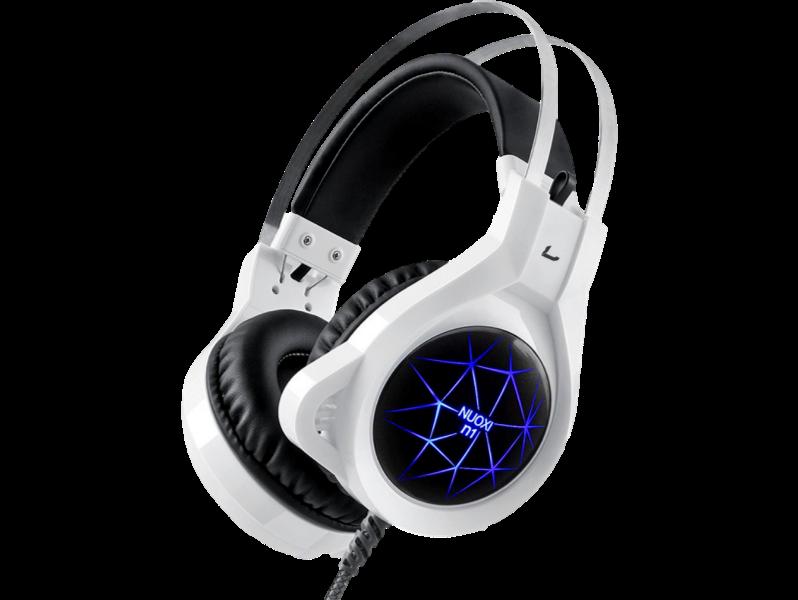 N1 Gaming Headset med Led-lys til PC