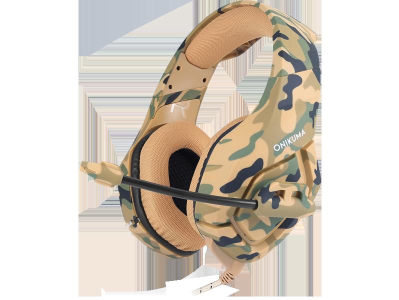 Asama K1 Gaming Headset-Brun