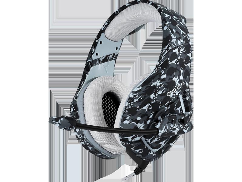 Asama K1 Gaming Headset til PC, PS4 & Xbox