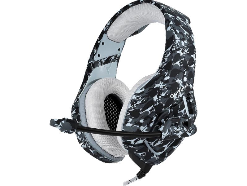 Asama K1 Gaming Headset-Grå