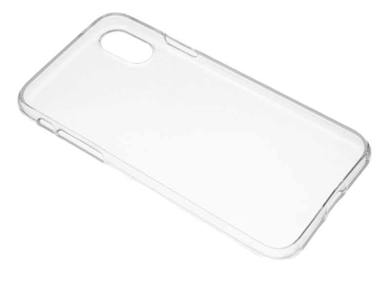 Image of   Transparent TPU Cover til iPhone X / XS