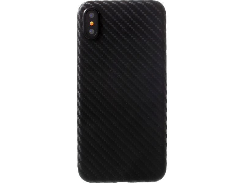 Image of   Carbon Fiber cover til iPhone X