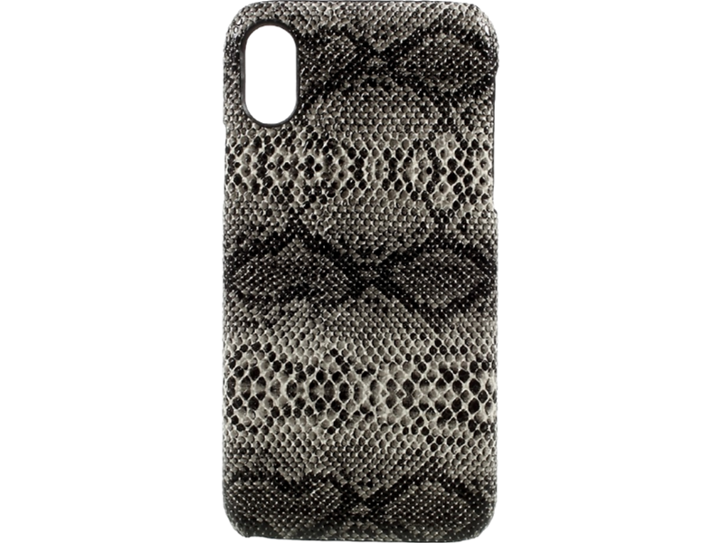 Image of   Snake cover i PU læder og plastic til iPhone X