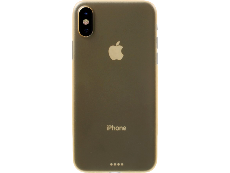 Image of   Fabia plastic cover til iPhone X-Guld