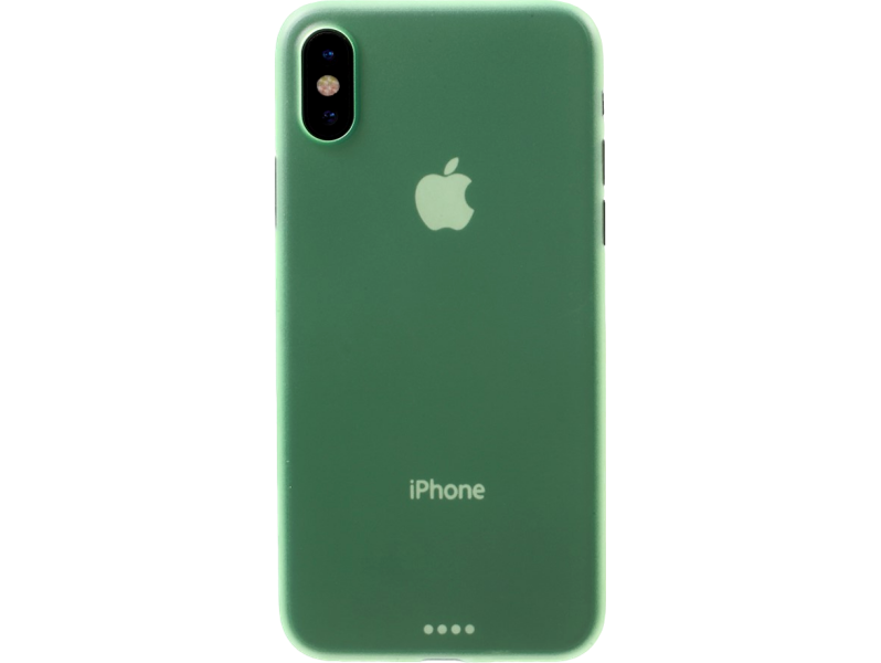 Image of   Nesto plastic cover til iPhone X-Grøn