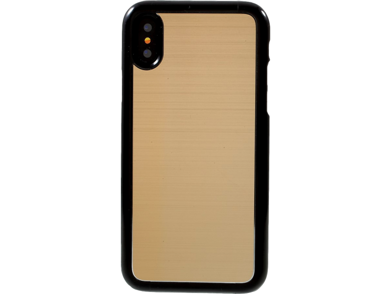 Image of   Mendi metal- og plasticcover til iPhone X