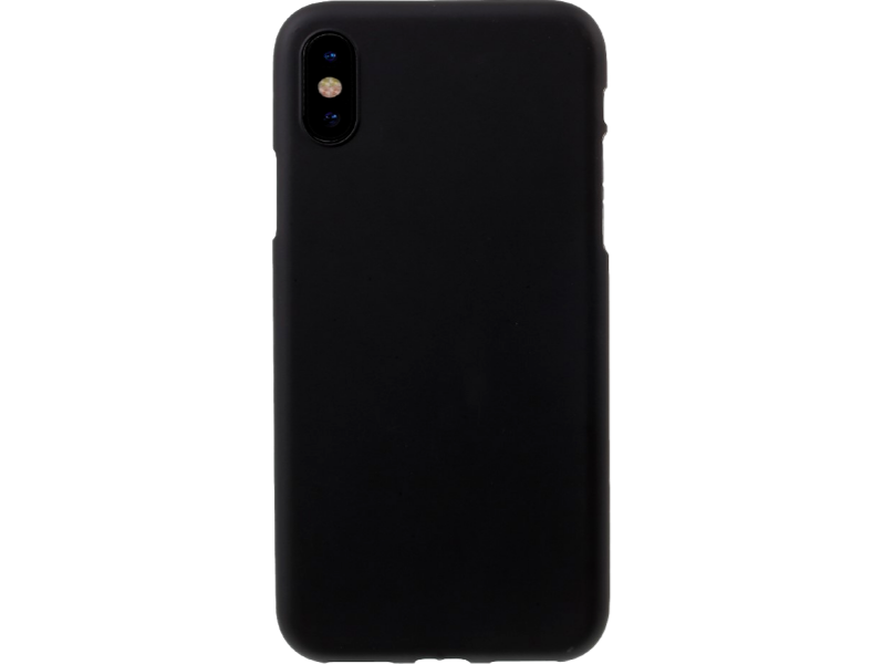 Image of   Matte TPU cover til iPhone X-Sort