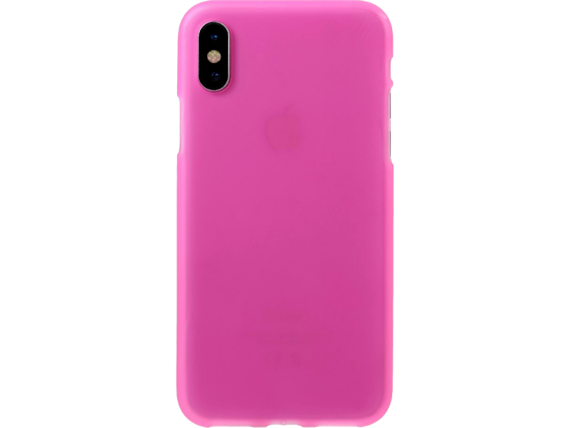 Image of   Matte TPU cover til iPhone X-Pink