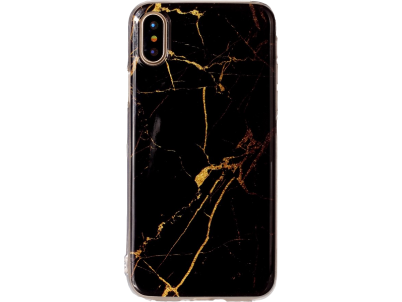 Image of   Marmor TPU cover til iPhone X-Sort