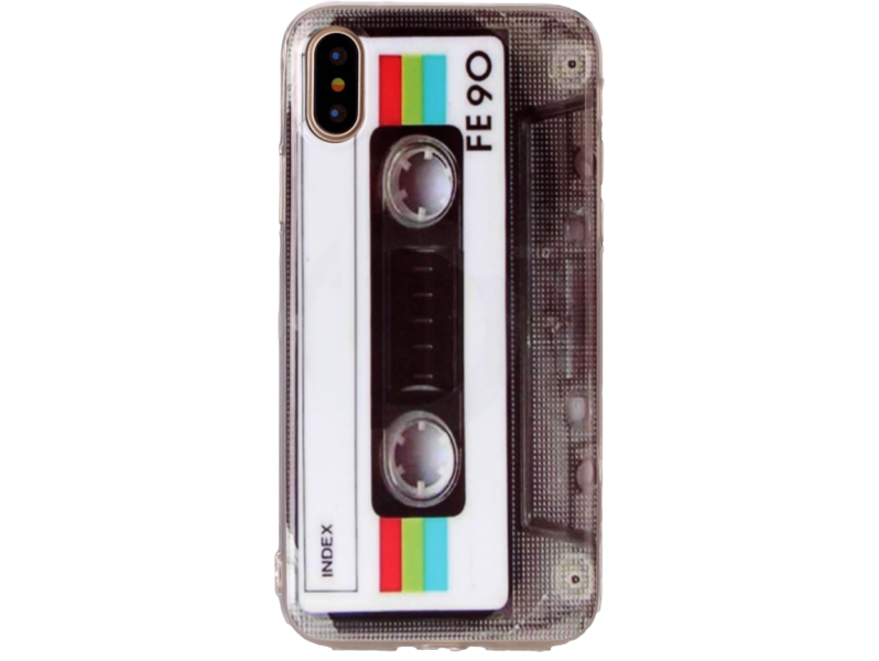 Image of   Retro TPU cover til iPhone X/XS