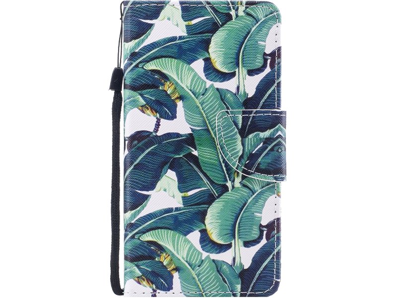 Image of   Leaves Flip Cover til iPhone X / XS