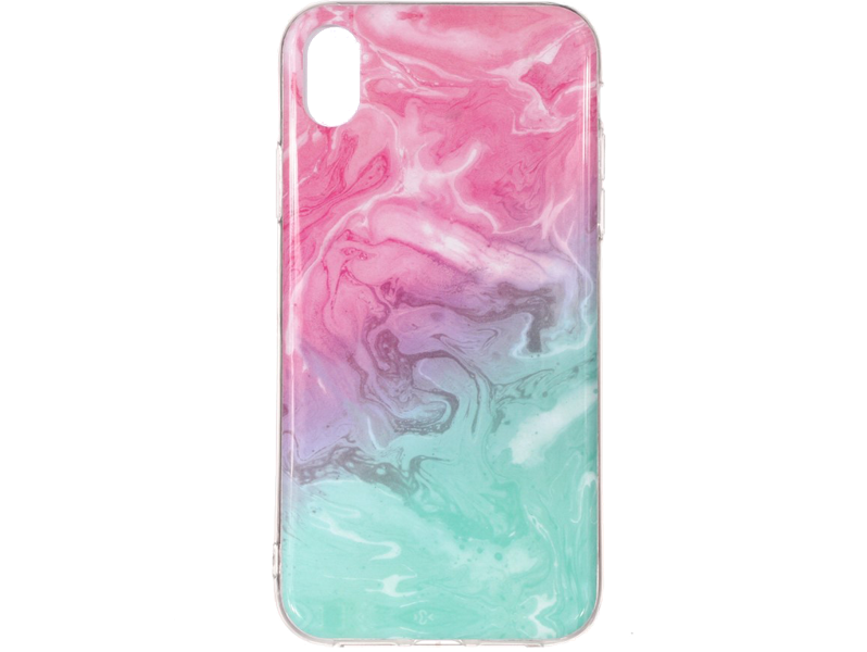 Image of   Marmor TPU Cover til iPhone XR-Pink