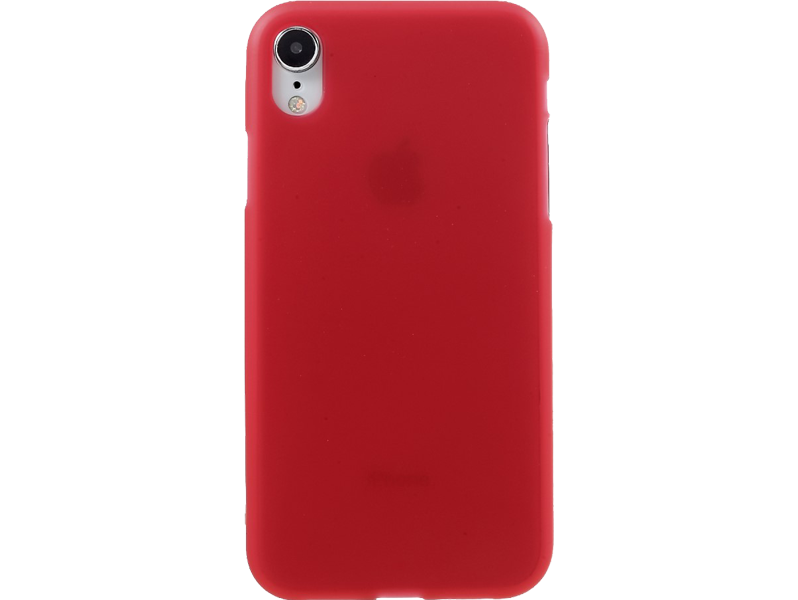 Image of   Matte TPU Cover til iPhone XR-Rød
