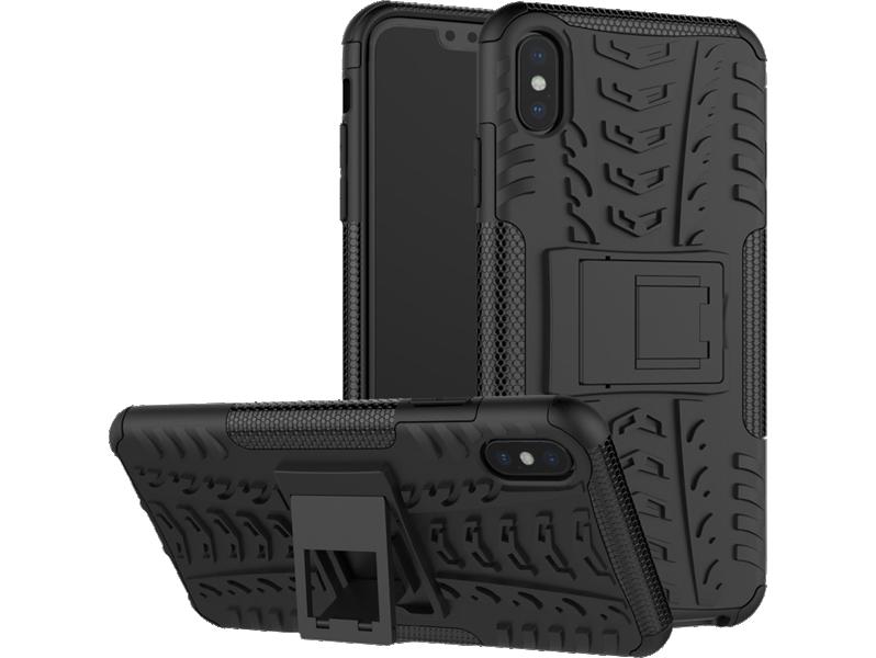 Armor TPU Cover m. kickstand til iPhone XS Max