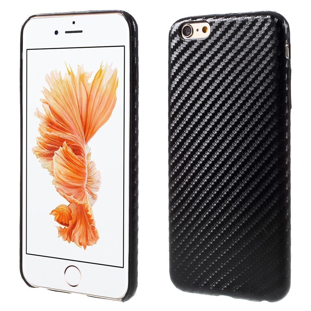 Image of   Carbon fiber cover til iPhone 6 Plus og 6s Plus
