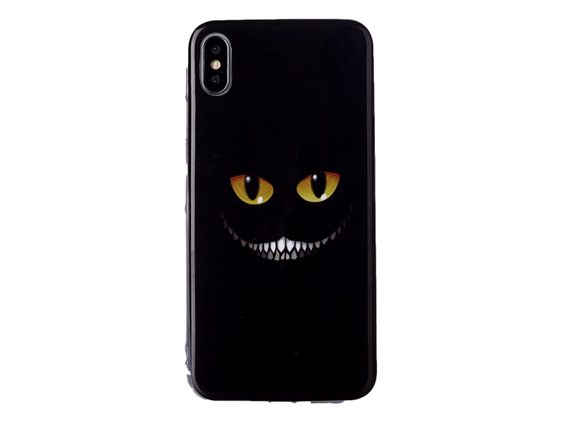 Image of   Cheshire TPU Cover til iPhone X / XS