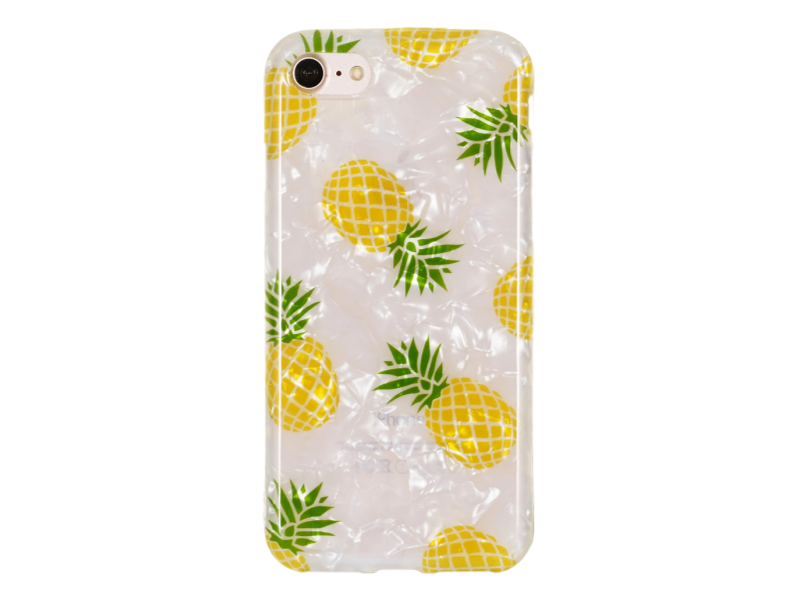 Image of   Ananas TPU Cover til iPhone 7 / 8 / SE (2020)