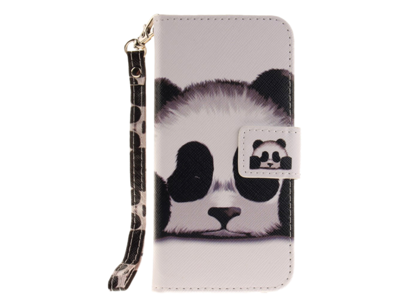 Image of   Panda Flip Cover til iPhone 7 / 8 / SE (2020)