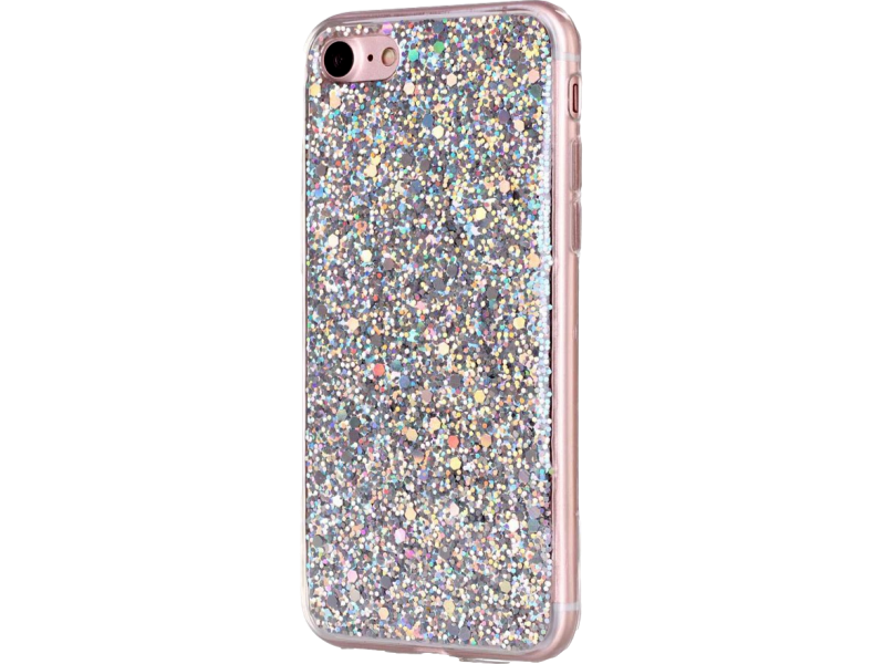 Image of   Sølv Diamond iPhone 7 / 8 / SE (2020) cover
