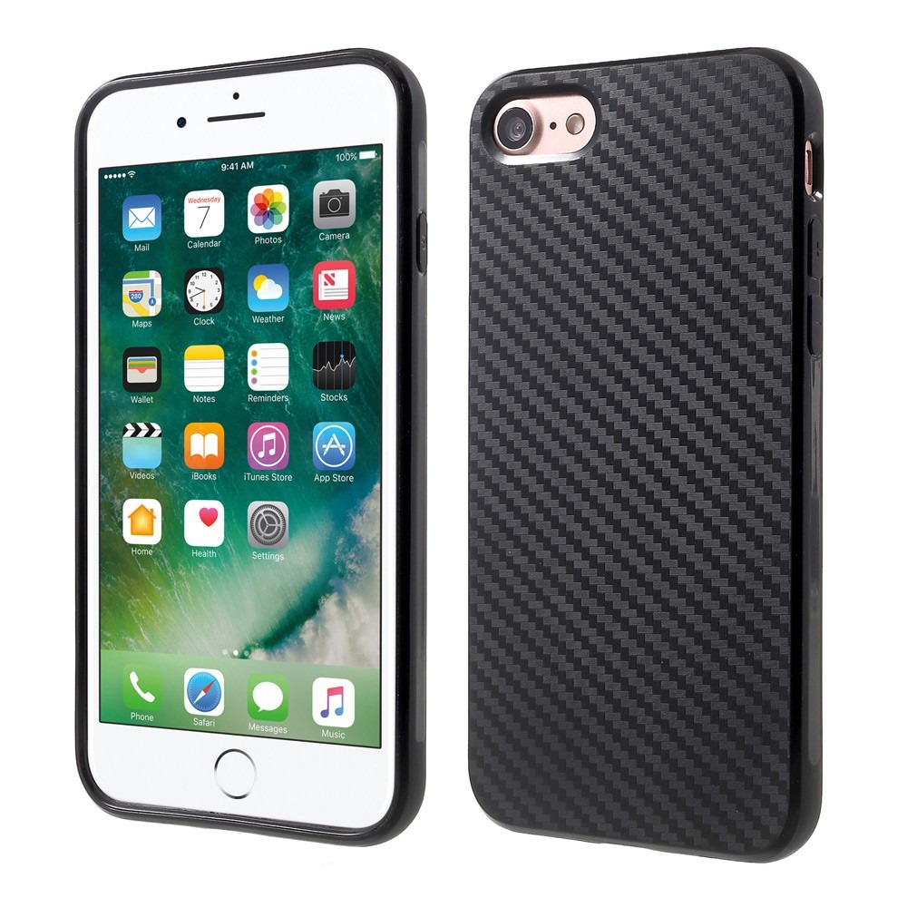 Image of   Carbon fiber cover til iPhone 7 / 8 / SE (2020)
