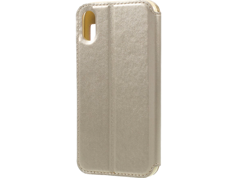 Image of   Primo flipcover til iPhone X-Guld