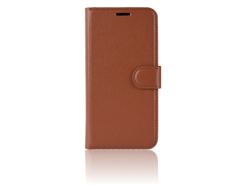 Evermart Graviera Flip Cover Til Samsung Galaxy A80-Brun Samsung Galaxy A80