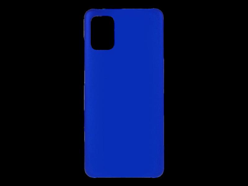 Soft Touch Cover Til Samsung Galaxy A51-Blå
