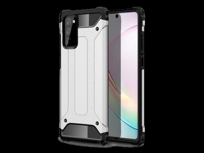 Armor Cover til Samsung Galaxy Note 20-Sølv
