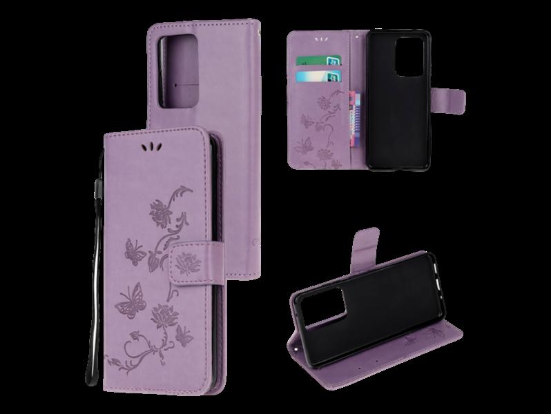 Lino Flip Cover til Samsung Galaxy Note 20 Ultra-Lilla