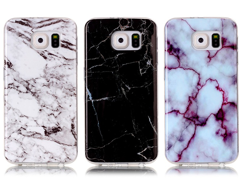 Image of   Marmor cover til Samsung Galaxy S6