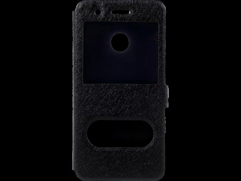 Image of   Alexis view-flipcover i PU læder til Huawei P9 Lite Mini-Sort