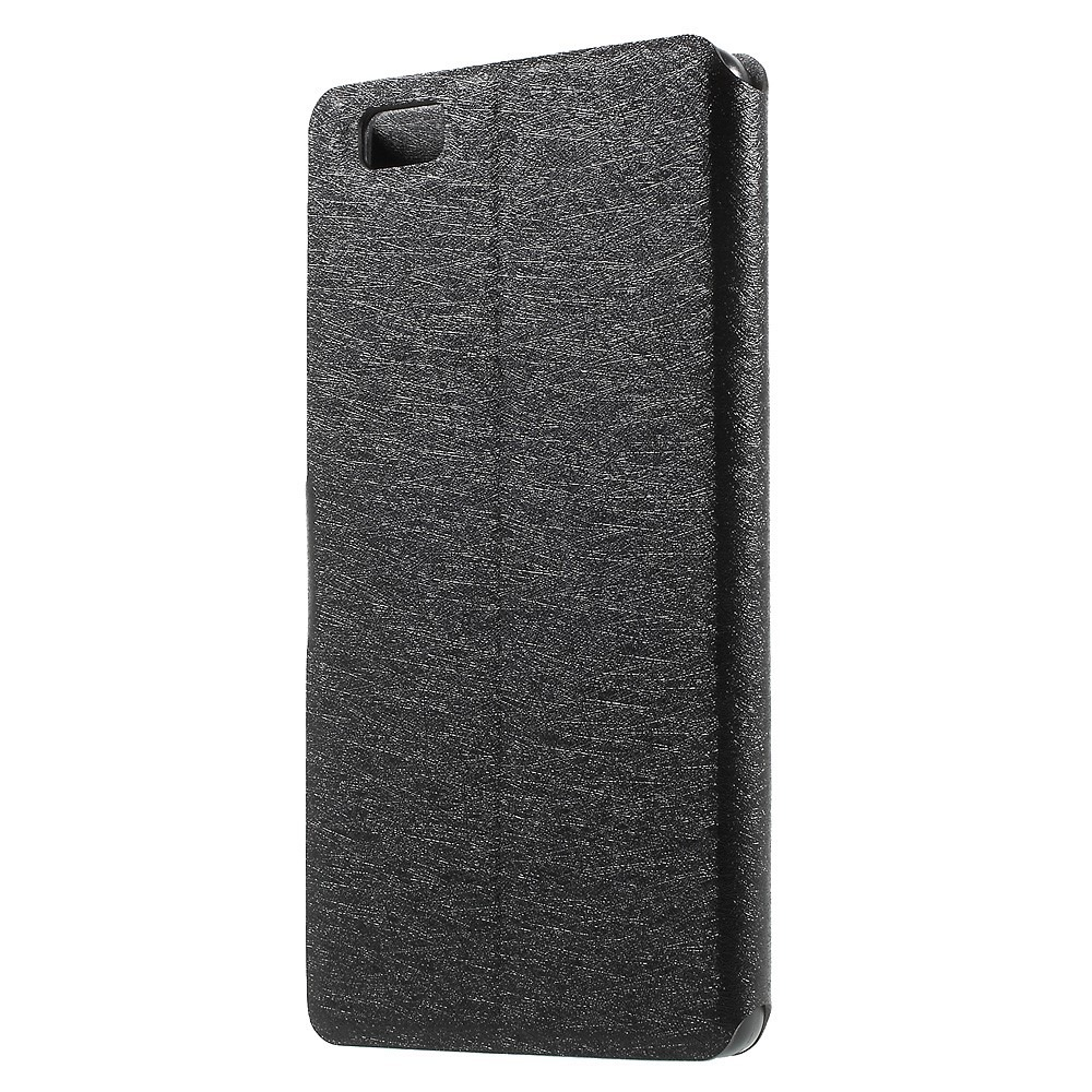 Image of   Fotini flipcover til Huawei P8 Lite-Sort
