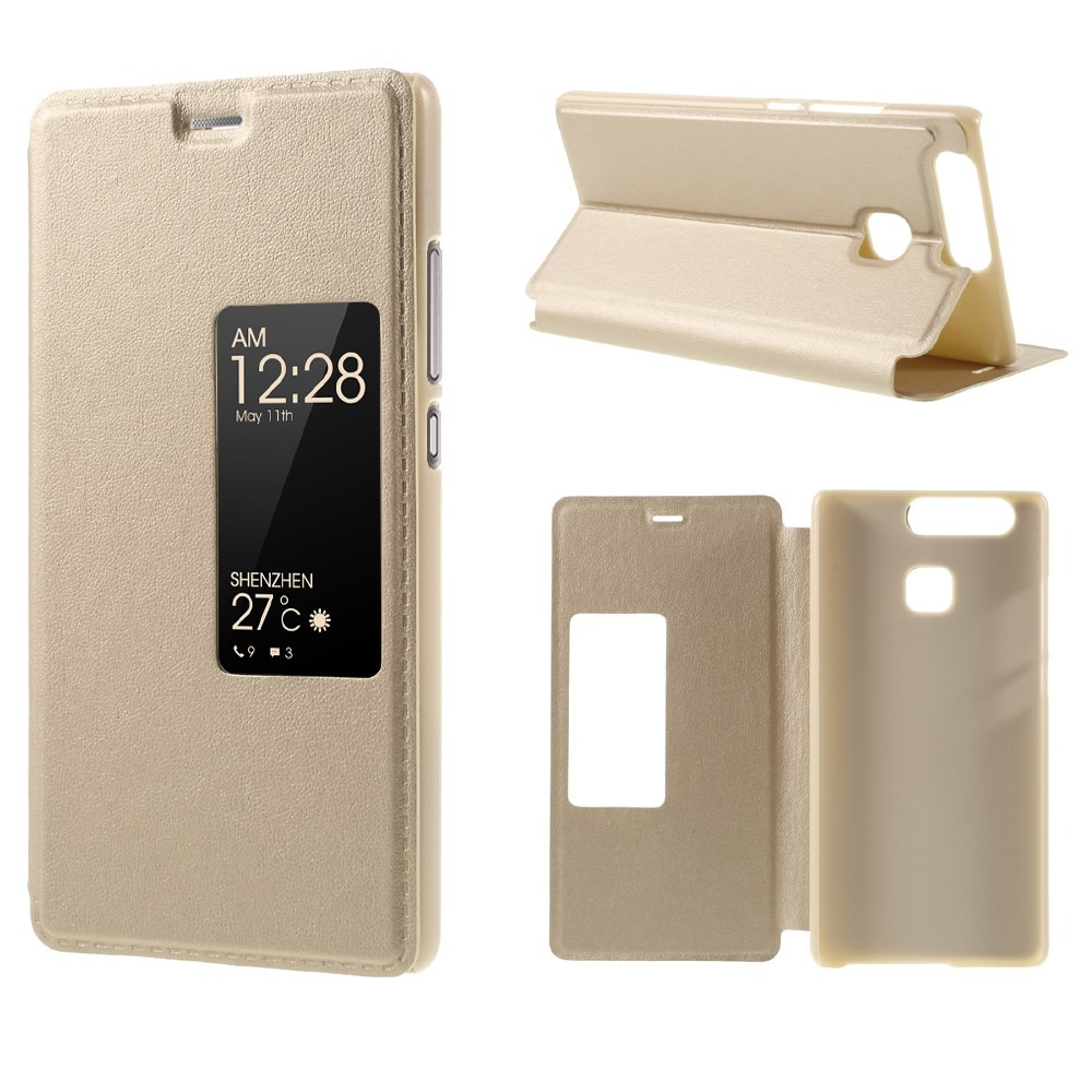 Image of   Halloumi Huawei P9 Flip Cover-Champagne