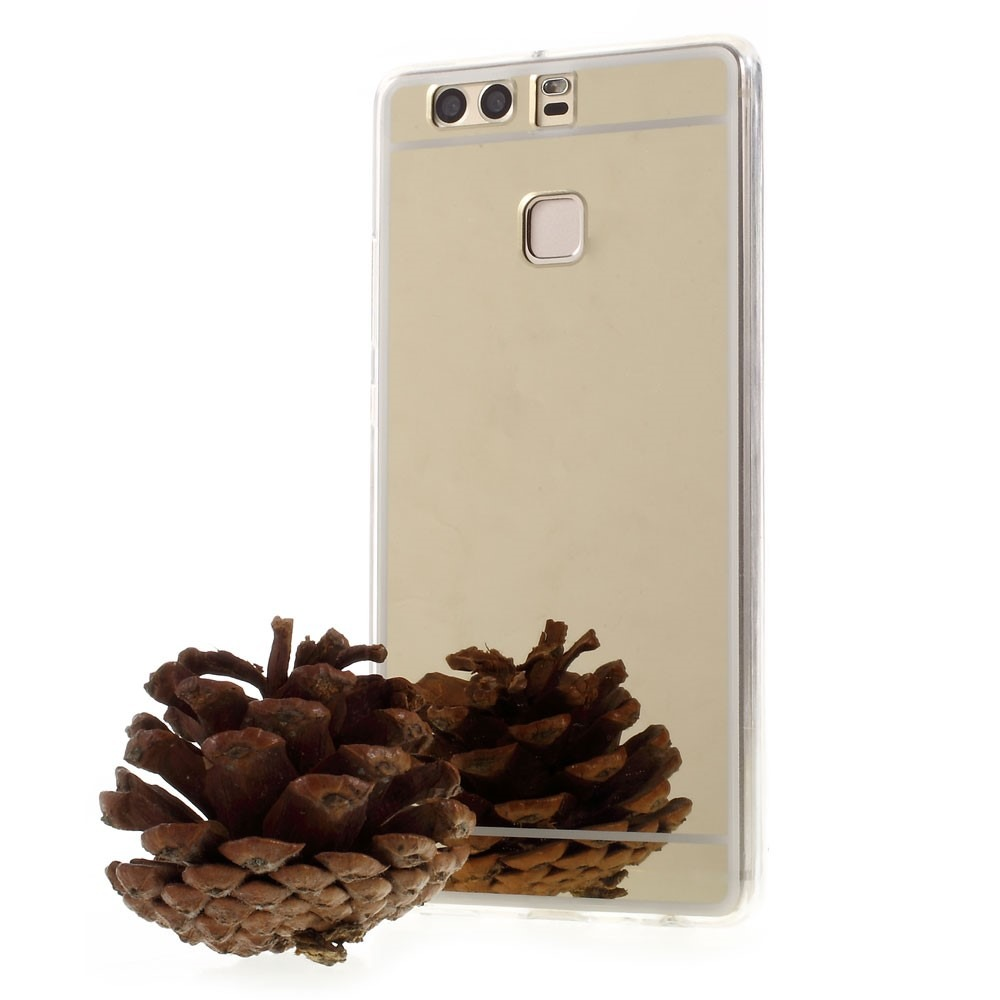 Image of   Chios Huawei P9 Spejlcover-Guld