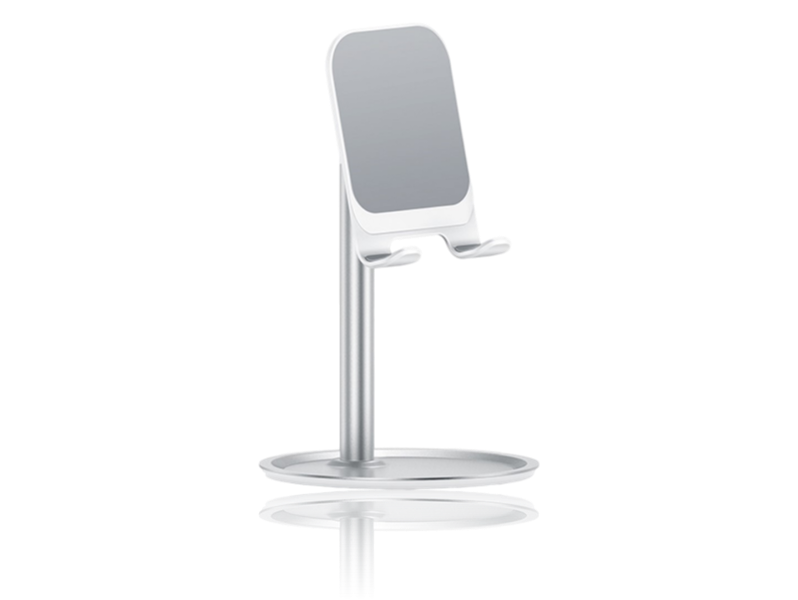Image of   Aluminiums Holder til Smartphone & Tablet-Sølv