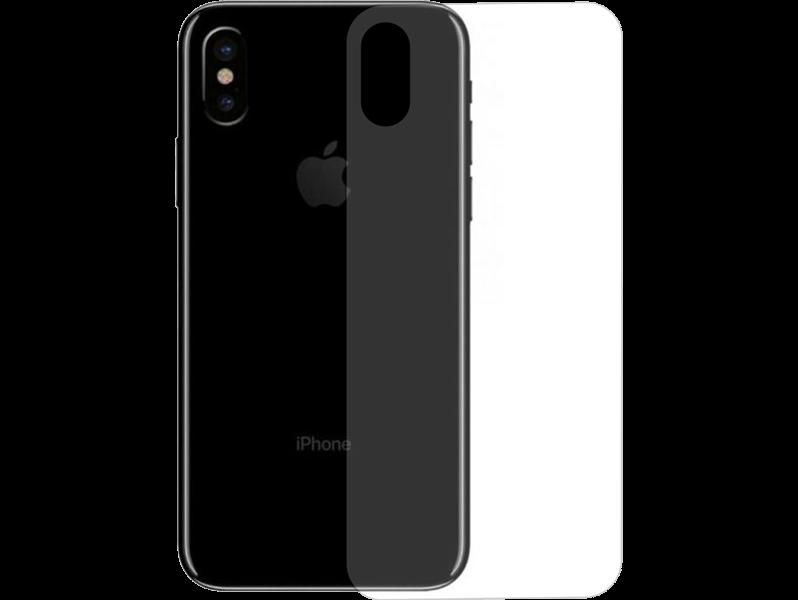 Image of   Hærdet Bagside Beskyttelsesglas til iPhone Xs / X