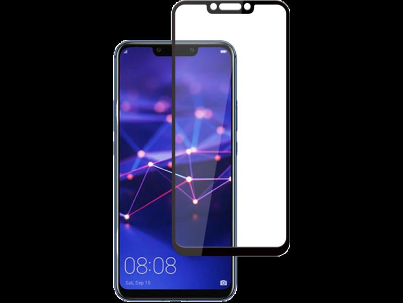 Image of   3D Hærdet Beskyttelsesglas til Huawei Mate 20 Lite-Sort