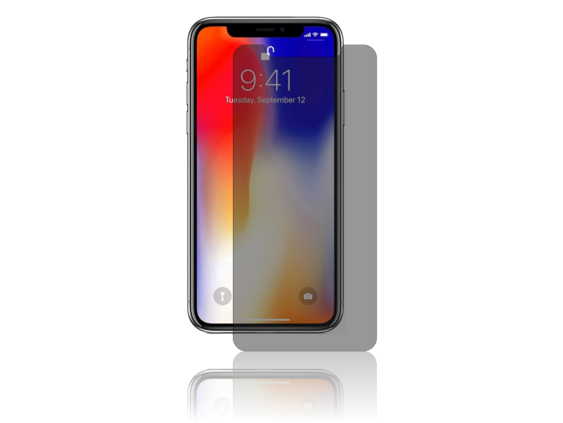 Image of   Privacy Glas til iPhone 11 / XR