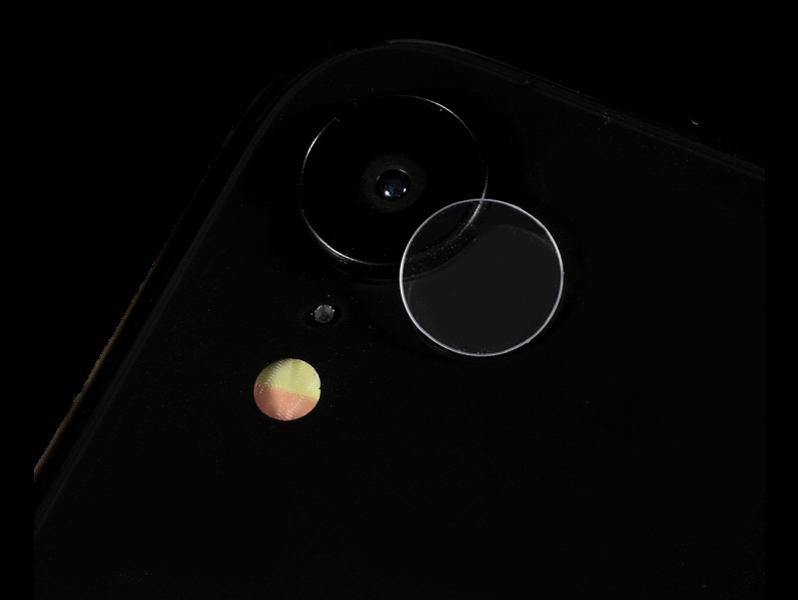 Image of   Hærdet Kamera Beskyttelsesglas til iPhone XR