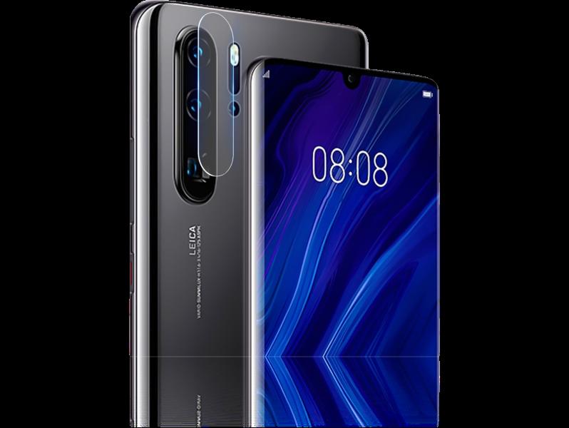 Image of   2-Pak Hærdet Kamera Beskyttelsesglas til Huawei P30 Pro